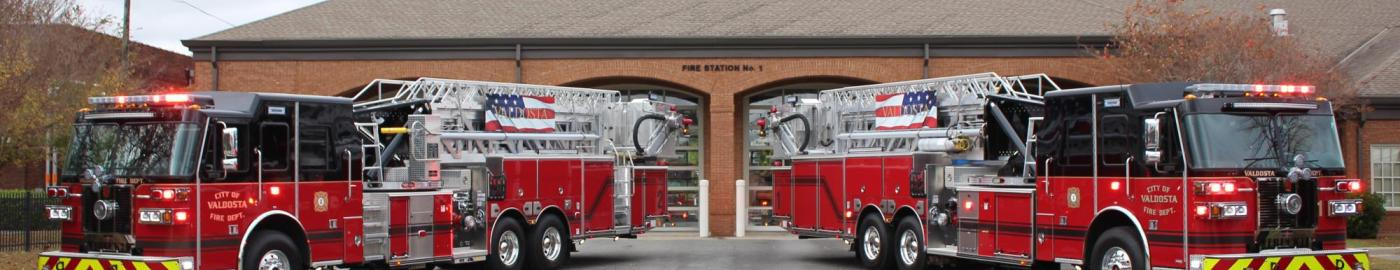 New VFD Fire Trucks