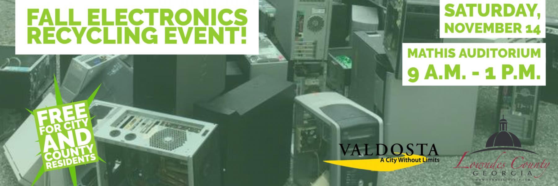 Fall Electronics Recycling
