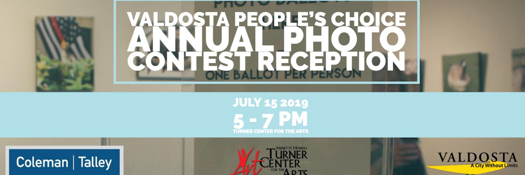 Photo Contest Reception