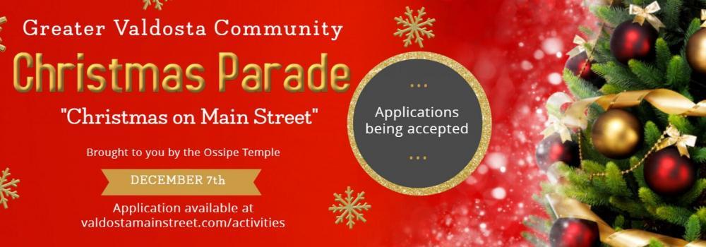 Valdosta Ga Christmas Parade 2019 Greater Valdosta Community Christmas Parade Scheduled For Dec 7