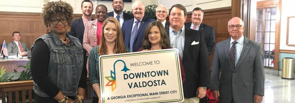 Valdosta Main Street Receives GEMS Designation