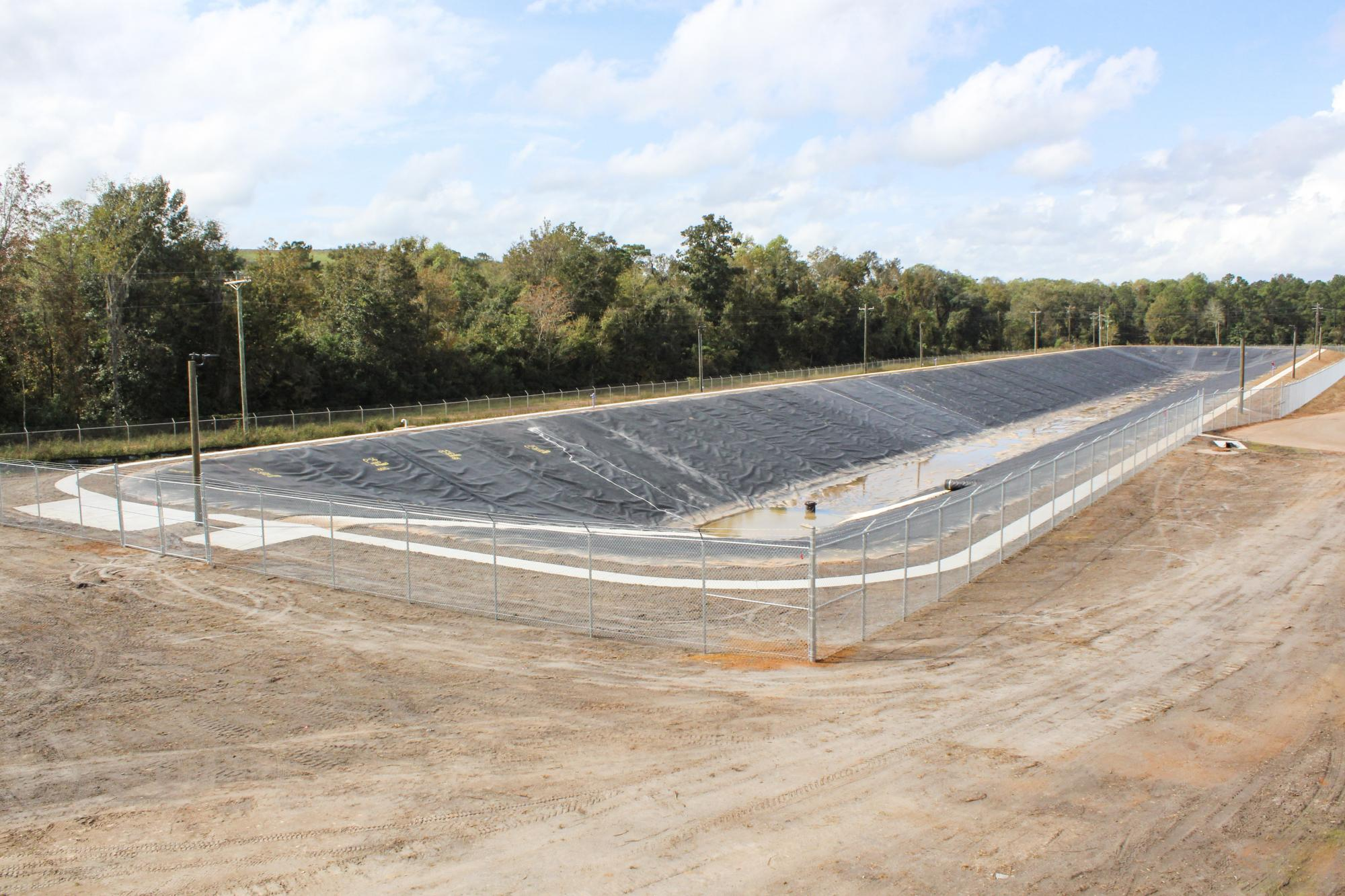 Valdosta WWTP Catch Basin